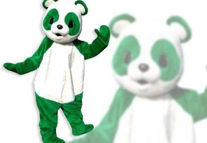 緑のパンダ